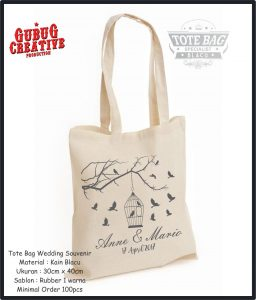 Tote Bag Blacu |Wedding|